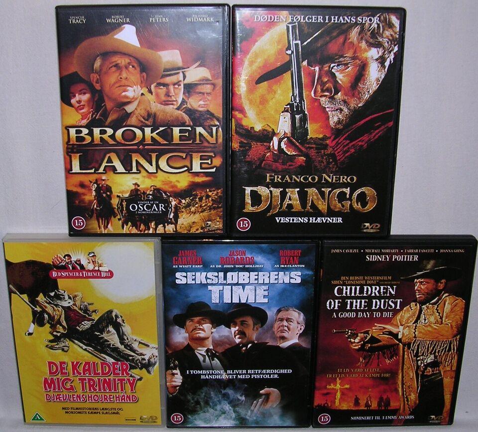 Western Film Boks, DVD, western