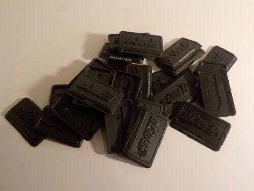 GI Joe moderne 1:18 3.75 Joe caractères Black Action Figure Stands Hasbro x 25