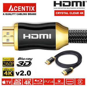 PREMIUM-UltraHD-HDMI-Cable-v2-0-0-5M-1M-1-5M-2M-10M-High-Speed-4K-2160p-3D-Lead