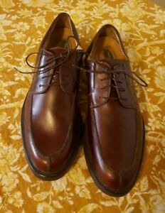 9dc498b62e Dockers Stain Defender 12M Brown Laceup Oxford Oil Resistant Comfort ...