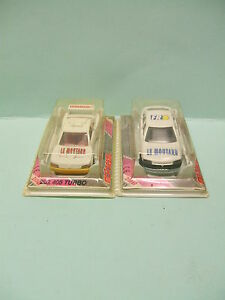 RENAULT-SAFRANE-ou-PEUGEOT-405-TURBO-16-1-64-3-inches-Made-in-France-MAJORETTE