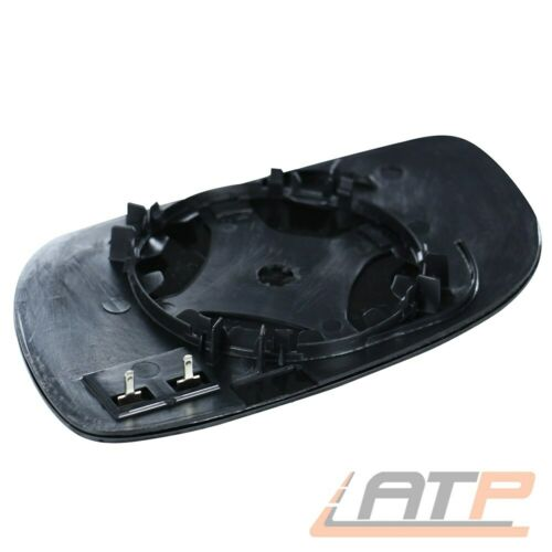 GLACE POLIE Miroir Extérieur Droit Convexe chauffable pour VW Touran 1 T 03-09