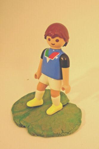 Playmobil JH-11 joueur de football figure Kicking Jambe Figure seulement sans base