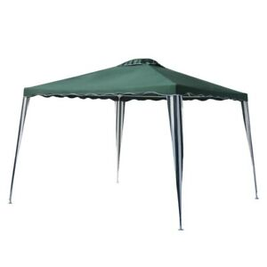 ALEKO-10x10-Iron-Foldable-PE-Gazebo-Canopy-For-Outdoor-Events-Picnic-Party-Green
