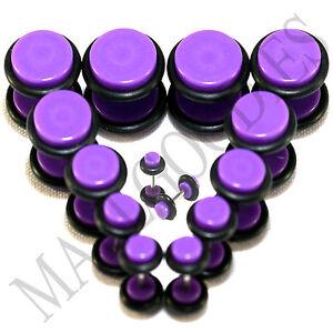 V069-Fake-Cheaters-Illusion-Plugs-4-2-0-00G-7-16-1-2-034-Violet-Purple-8-10-11-12mm