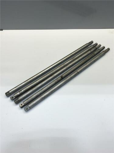 1950'S PLOMB 7128 7/16 HEX X 1/2 Square Drive 17 Extension Adapter 5PC Lot