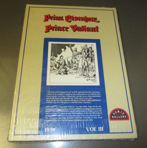 1970/'s Prinz Eisenherz Prince Valiant v.3 Oversized HC//DJ Sealed Hal Foster 1939