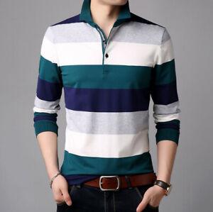 Camiseta-para-hombre-Camisa-suave-de-manga-larga-Ropa-de-hombres-nueva-Camisas