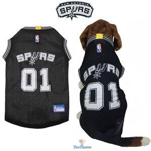 f82a25a979c NBA Pet Fan Gear SAN ANTONIO SPURS Dog Jersey Shirt Tank for Dogs XS ...
