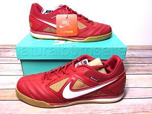 7b5c00b8c NIB Supreme x Nike SB Gato QS FW2018 Size 10 Red White AR9821 600
