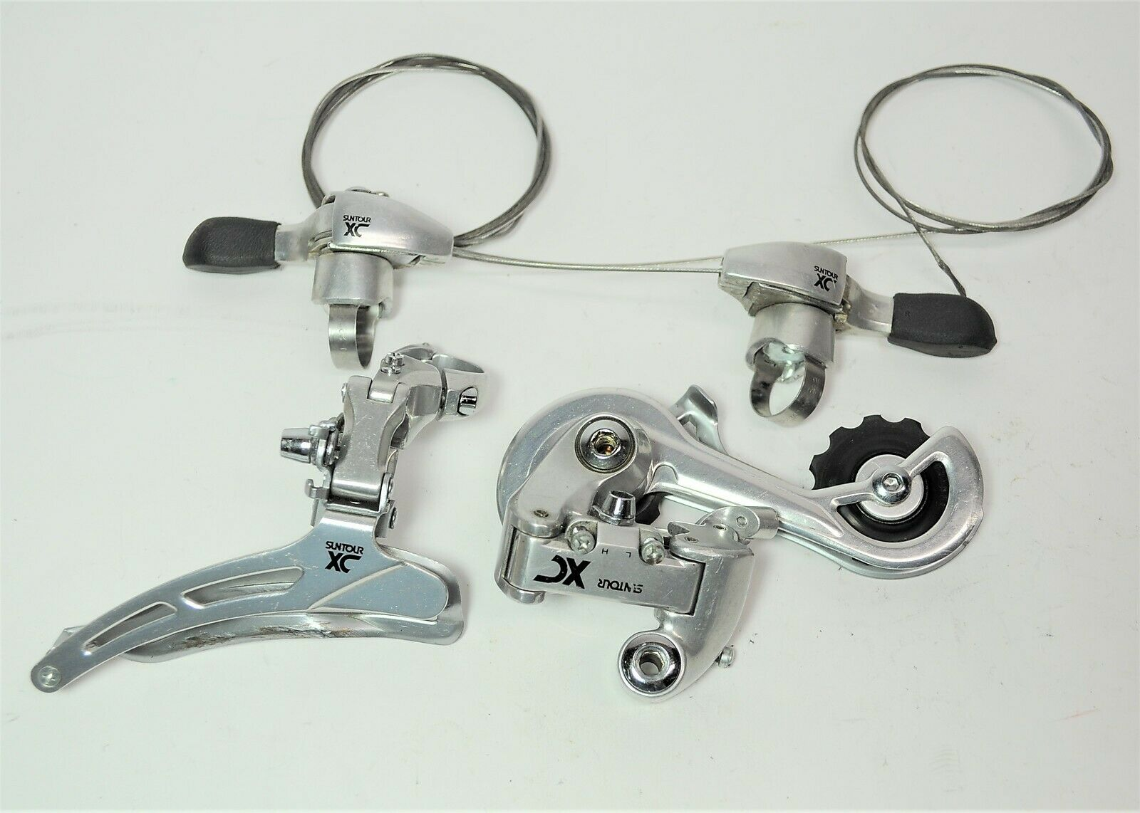 MAEDA SUNTOUR XC BICYCLE POWER THUMB RATCHET SHIFTERS FRONT &  REAR DERAILLEURS  be in great demand