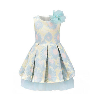 Girls Dress Boutique Blue Lemon Pink Flowergirl Wedding Occasion Party 5 Years Ebay,Special Occasion Wedding Guest Dresses 2020
