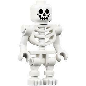 Skeleton NEW AUTHENTIC LEGO Bent Arms with Vertical Grip - FREE SHIPPING