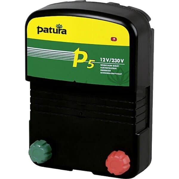 Patura® P5 Multi Voltage Energiser for Electric Fences - 147500