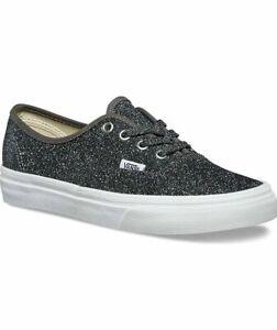 Vans Authentic (Lurex Glitter) Black
