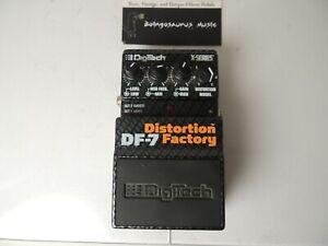 Digitech DF7 Distortion Factory Modeler Effects Pedal Free USA Shipping