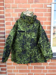 the best attitude ae728 c05b7 Details zu NEU #880 XXL Dänemark Army Gore-tex Regenjacke Nässeschutz Jacke  Flecktarn 318