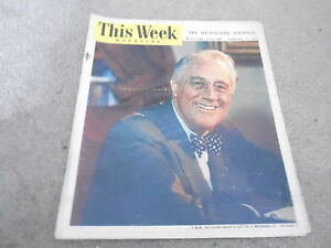 JAN-21-1945-THIS-WEEK-newspaper-FRANKLIN-ROOSEVELT