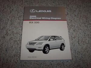 2006 lexus rx330 rx 330 factory original electrical wiring. Black Bedroom Furniture Sets. Home Design Ideas