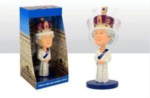 QUEEN-Majesty-Elizabeth-II-2018-Royal-Wedding-Commemorative-Bobble-Head-Figure