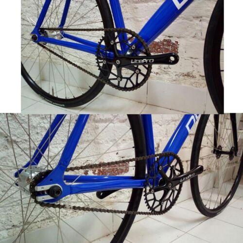 Litepro Bicycle Floding Road Bike Crankset 130BCD Single-Speed Chainring Crank