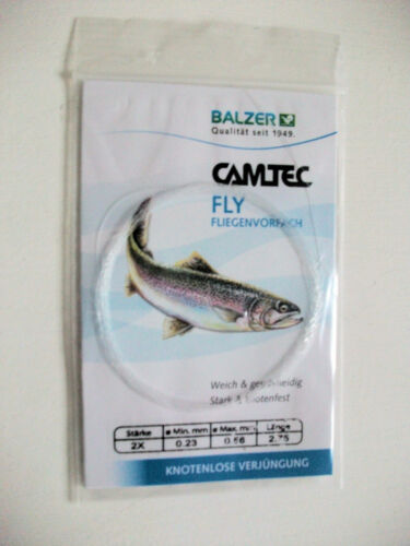 Balzer Camtec Fliegenvorfach 2  X