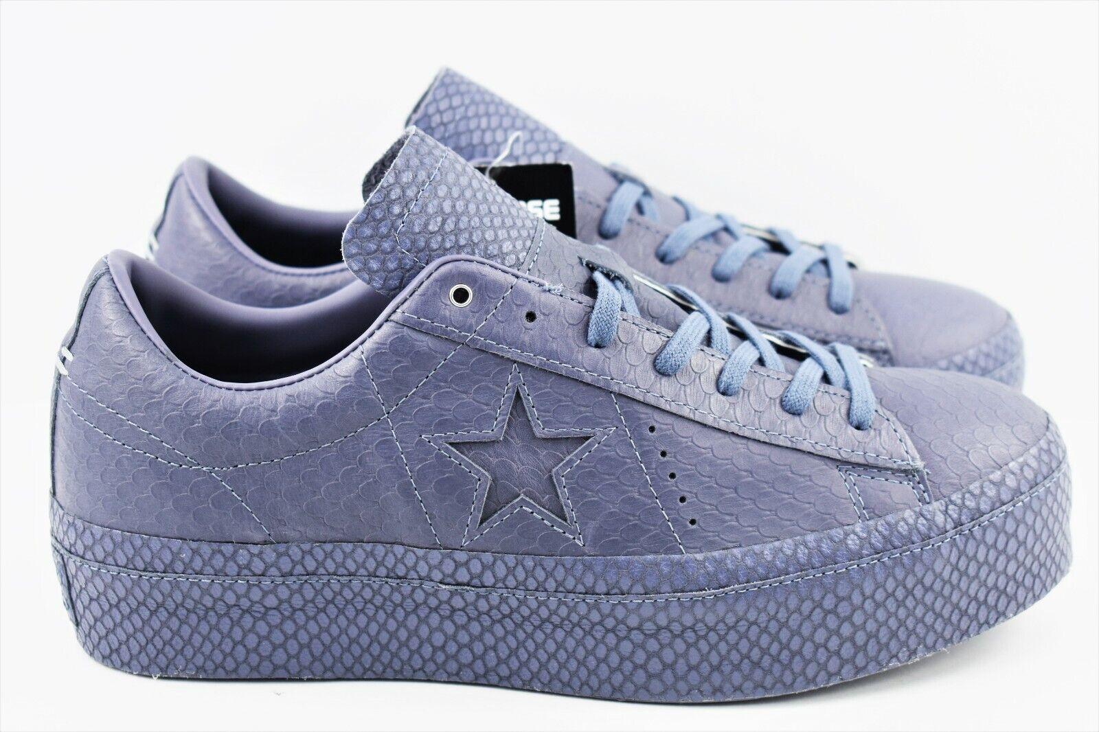 Converse One Star Buey De Plataforma Zapatos para mujer mujer mujer Talla 10 Luz Carbono 559901C Cuero  bajo precio del 40%