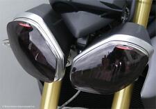 Triumph Speed Triple 13 15 Street Triple 12 16 Headlight Lens Covers Dark