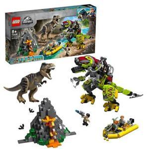 LEGO-Jurassic-World-La-bataille-du-T-rex-contre-le-Dino-Mech-75938