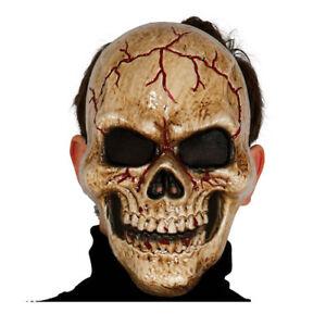 Halloween Maschere.Dettagli Su Maschera Teschio Oscuro Skull Horror Pvc Halloween Maschere