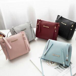 Women-Zipper-Shoulder-Bag-PU-Leather-Envelope-Crossbody-Messenger-Handbag-Purse