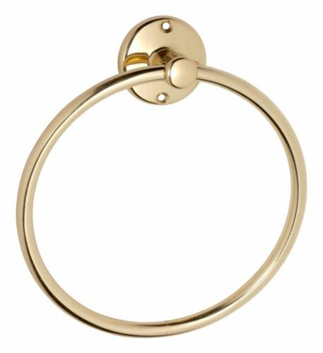 contemporary brass hand towel holder ring,heritage or new install,TH4852
