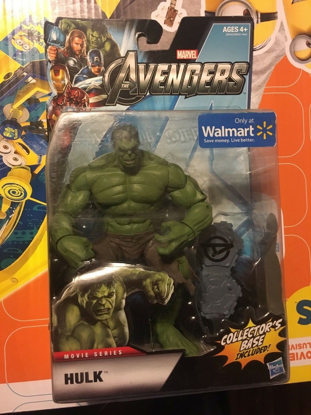 THE AVENGERS  De MARVEL Hulk Movie Series Walmart Exclusive Figure  100% authentique
