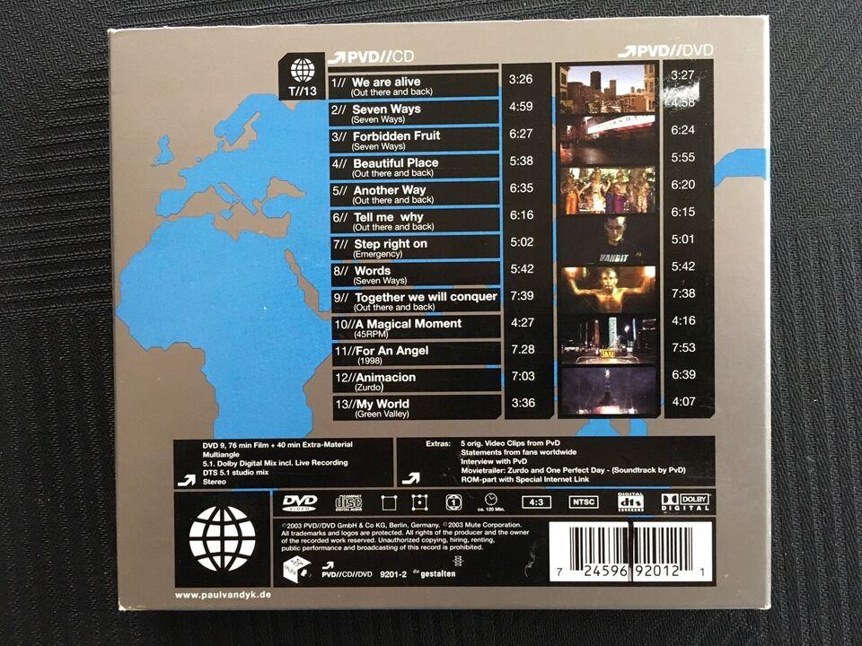 Paul Van Dyk: 7 CD albums, electronic