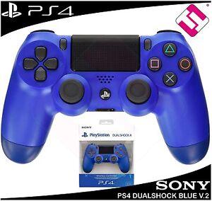 MANDO-PS4-DUALSHOCK-COLOR-AZUL-PLAYSTATION-4-PRECINTADO-V2-NUEVO-ORIGINAL