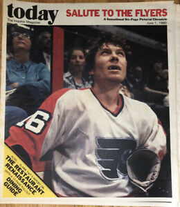 Philadelphia Inquirer Today Magazine Pull Out. June 1, 1980 Flyers Bobby  Clarke | eBay