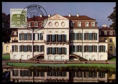 Briefmarken Diverse Philatelie Berlin Mk 1982 Schloss Wilhelmsthal Castle Maximumkarte Maximum Card Mc Cm M952 Belebende Durchblutung Und Schmerzen Stoppen