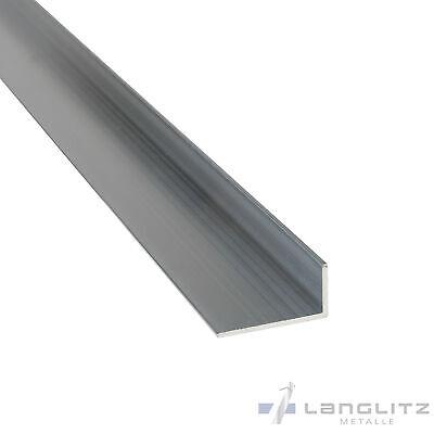 100 cm Aluminium Winkel AlMgSi0,5 Aluwinkel Alu L Profil Leiste Schiene Kante