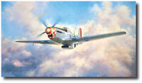 P-51 Mustang by John Young - Aviation Art Print