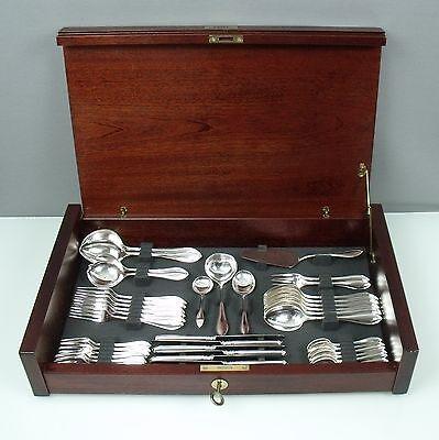Besorgt Robbe & Berking ( R & B ) Navette 800 Er Silberbesteck Mit 10-vorleger (160501) Feine Verarbeitung