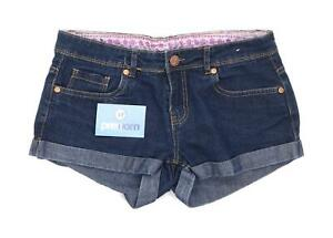 Womens-Denim-Co-Blue-Denim-Shorts-Size-10-L2