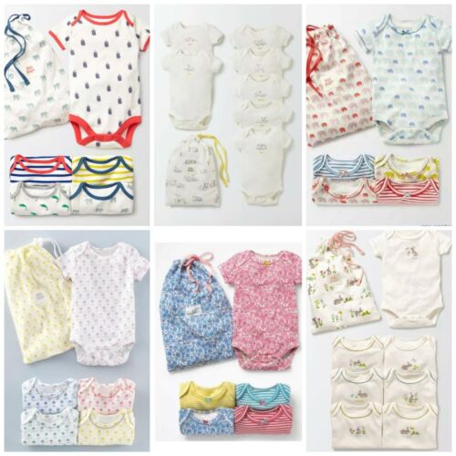Baby Boden Girls//Boys Short Sleeve Vests 0-3Yrs TWO £6.99 FOUR £12.99