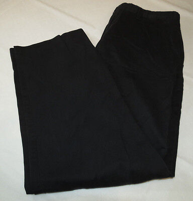 Mens Dockers D3 36 pants slacks casual school work Black pre-owned GUC
