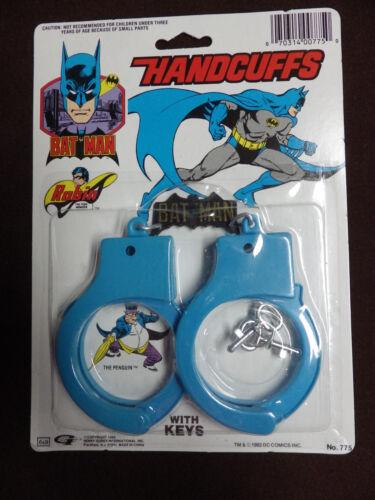 Années 80 Henry Gordy Batman Crime Fighter ensembles Menottes survie Set Batplane Pick