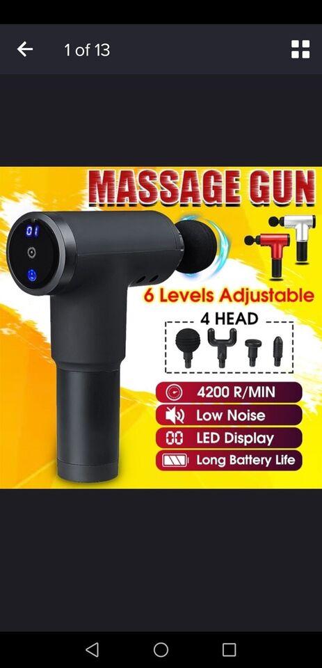 Massage, Massage aparat, 2020