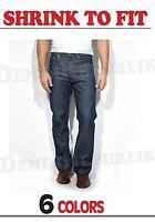 LEVIS 501® Original SHRINK TO FIT Men's Levi's Straight Leg Button Fly Jeans