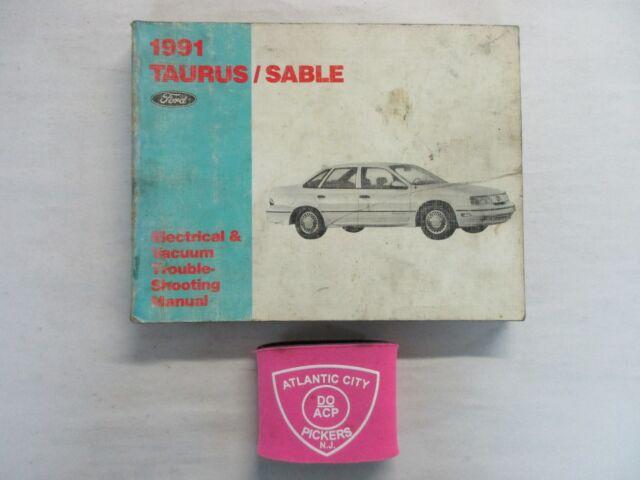 1991 Ford Taurus Mercury Sable Electrical Wiring Diagrams