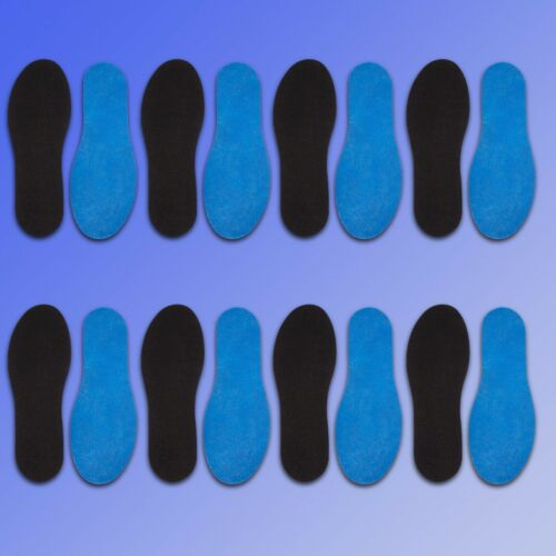 Ultra Thin Insoles with Fresh Fragrance 8 Pair Refreshing Soles Hygienically