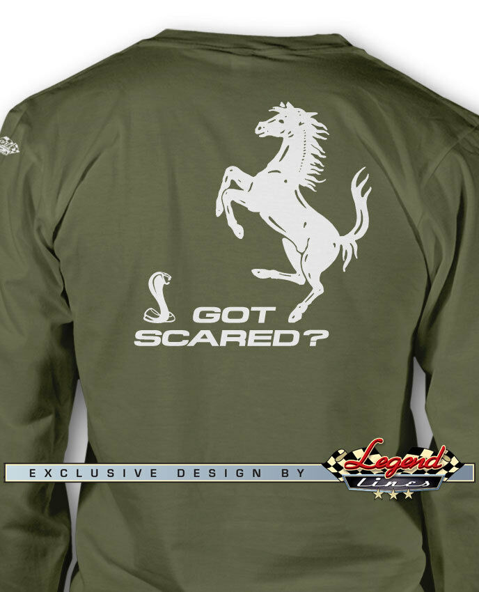 Cobra F Wars Got Scared Long Sleeves T-Shirt - Multiple colors and Sizes