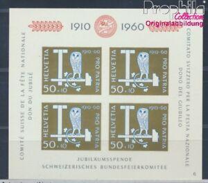Schweiz-Block17-postfrisch-1960-Pro-Patria-8532486